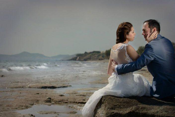 Φωτογράφηση γάμου παραλιακή