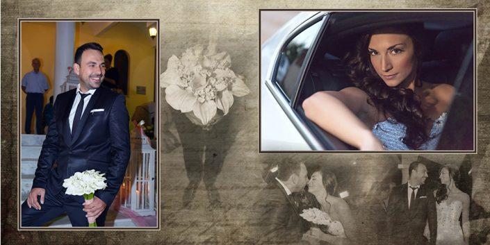 Φωτογραφίες γάμου στην Κηφισιά vintage