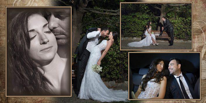 Άλμπουμ γάμου στη Μύκονο vintage
