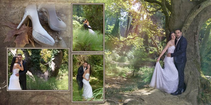 Άλμπουμ γάμου στη Λευκωσία vintage