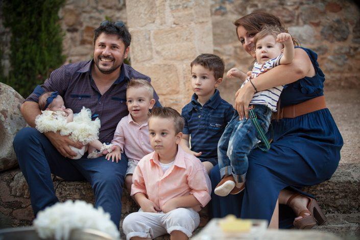 Φωτογράφιση στην Παλλήνη βάπτισης